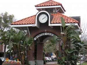 Gateway to historic old Winter Garden Florida