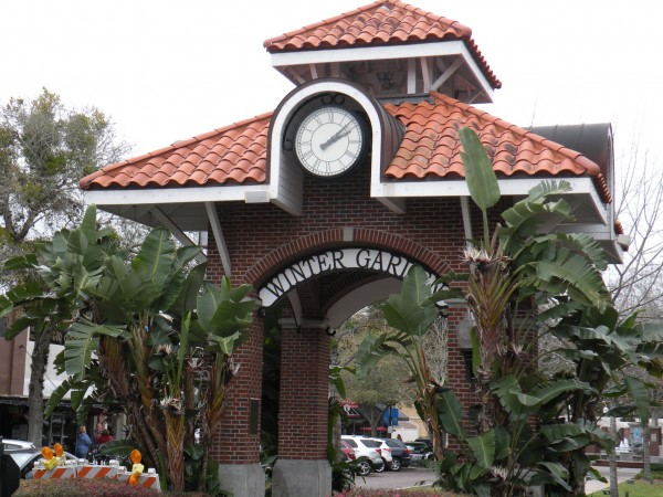 Gateway to historic old Winter Garden Florida