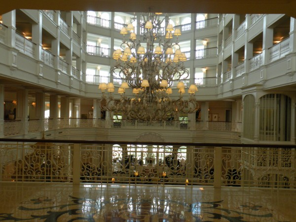 Lobby view at Disney's Grand Floridian Resort - Disney World Orlando