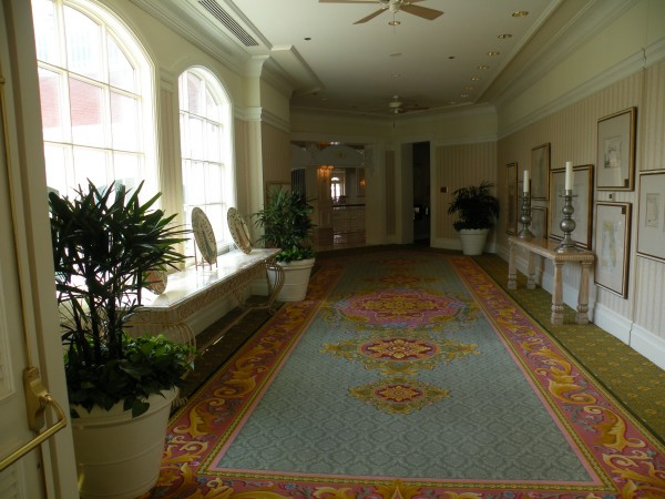 Hallway at Disney's Grand Floridian Resort - Disney World Orlando