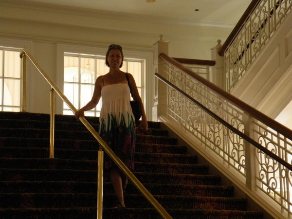 Grand staircase at Disney's Grand Floridian Resort - Disney World Orlando